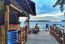 Pulau Macan (Tiger Island) in Jakarta, Indonesia