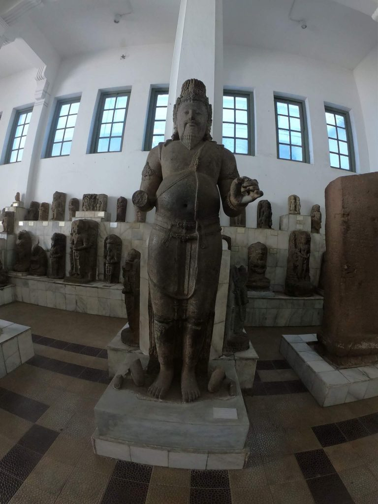 Statue at the museum in Jakarta