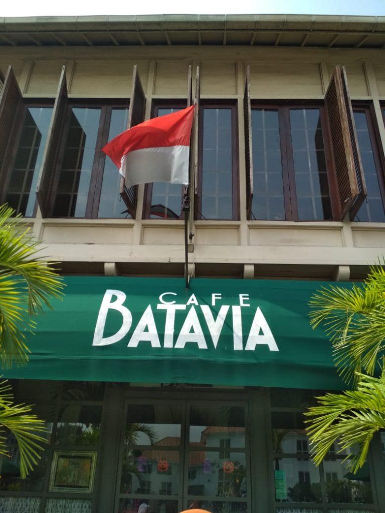Cafe Batavia entrance