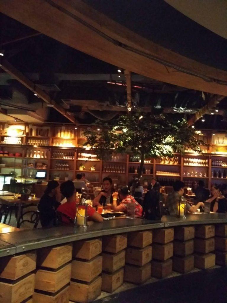 Social house restaurant interiors