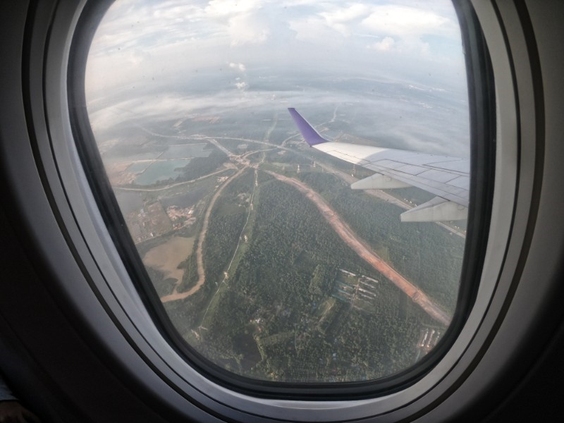 View of Jakarta from the plane