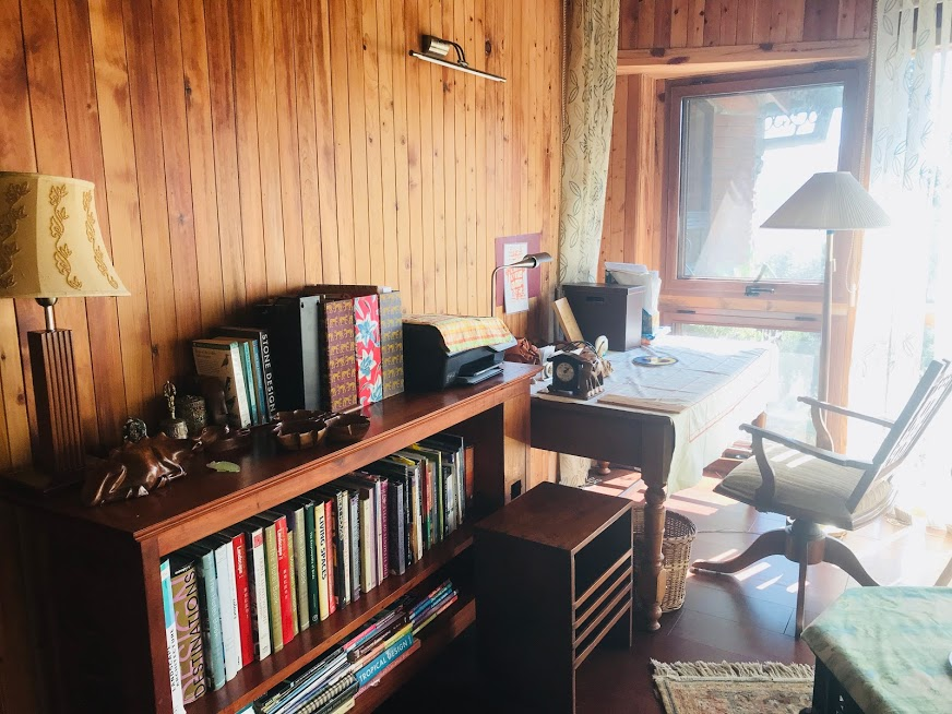 The study room at himalaica, Bhowali