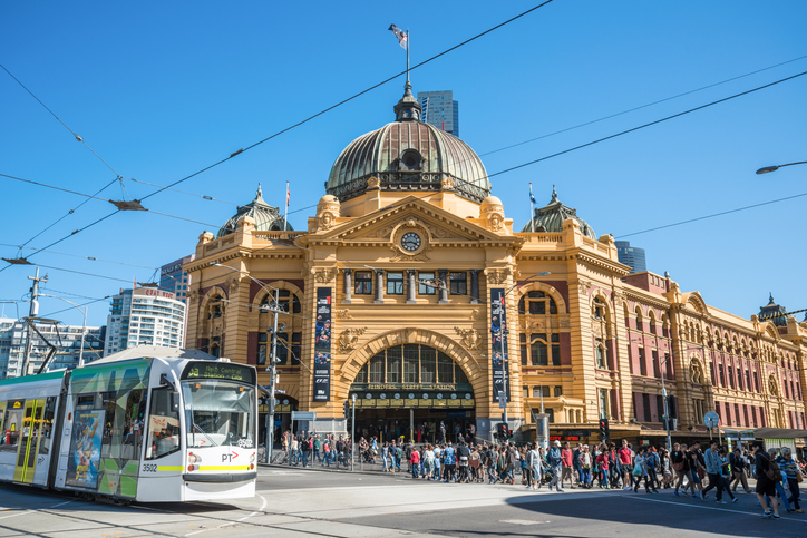 Flinders Street, Melbourne - things to do in Melbourne