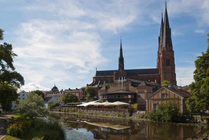 The Uppsala Cathedral is a cathedral located in the centre of Uppsala. The cathedral dates back to the late 13th century.