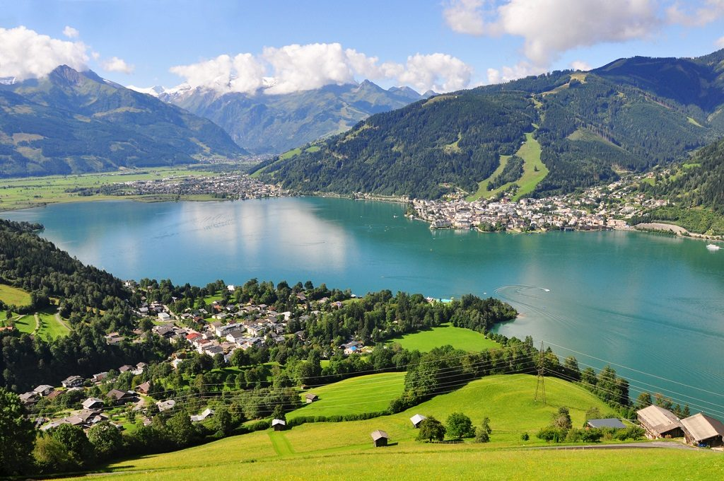 Panorama of Zell am See, Salzburger Land, Salzburg, Austria, Travel Guide