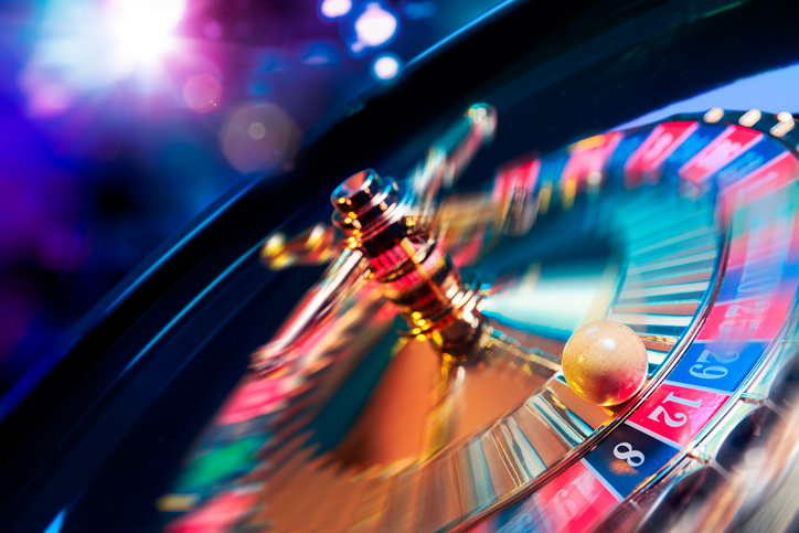 Roulette wheel in motion - things to do in Las Vegas