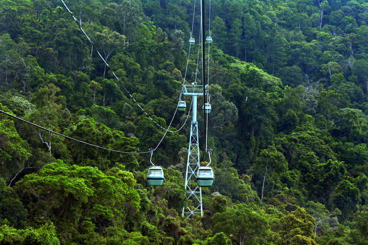 Skyrail Rainforest Cableway, Kuranda Queensland
