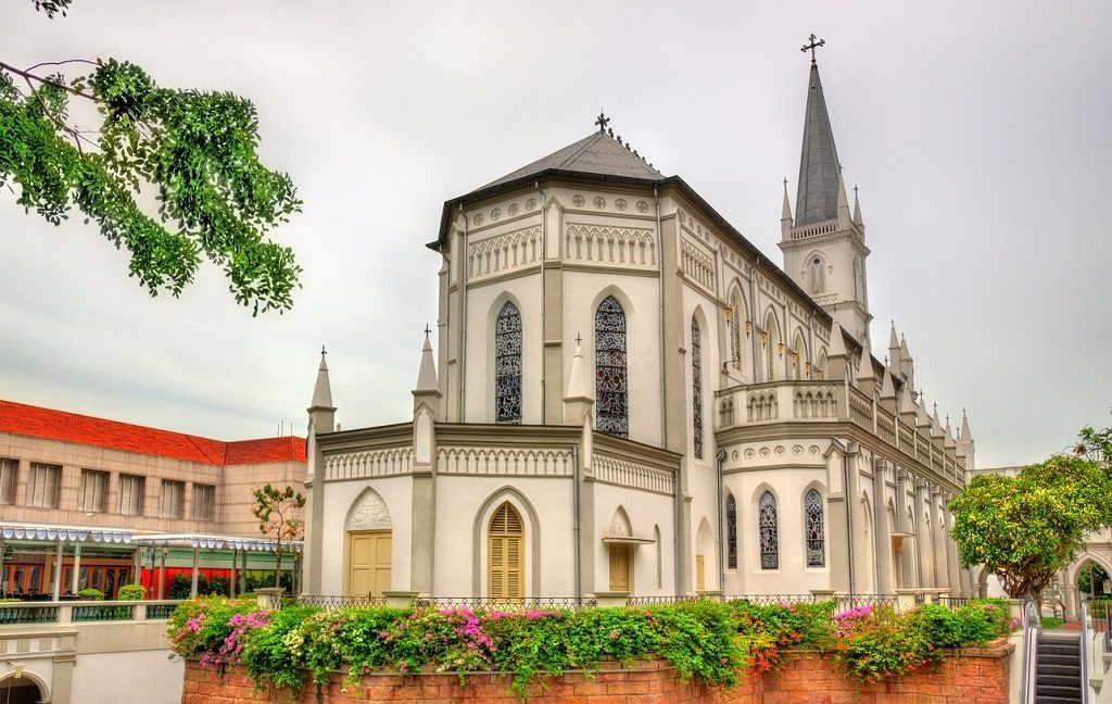 The CHIJMES Hall, previously the Convent of the Holy Infant Jesus - Singapore, Singapore