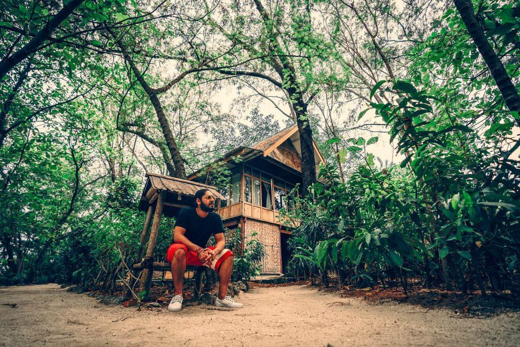 Pulau Macan Island cabins
