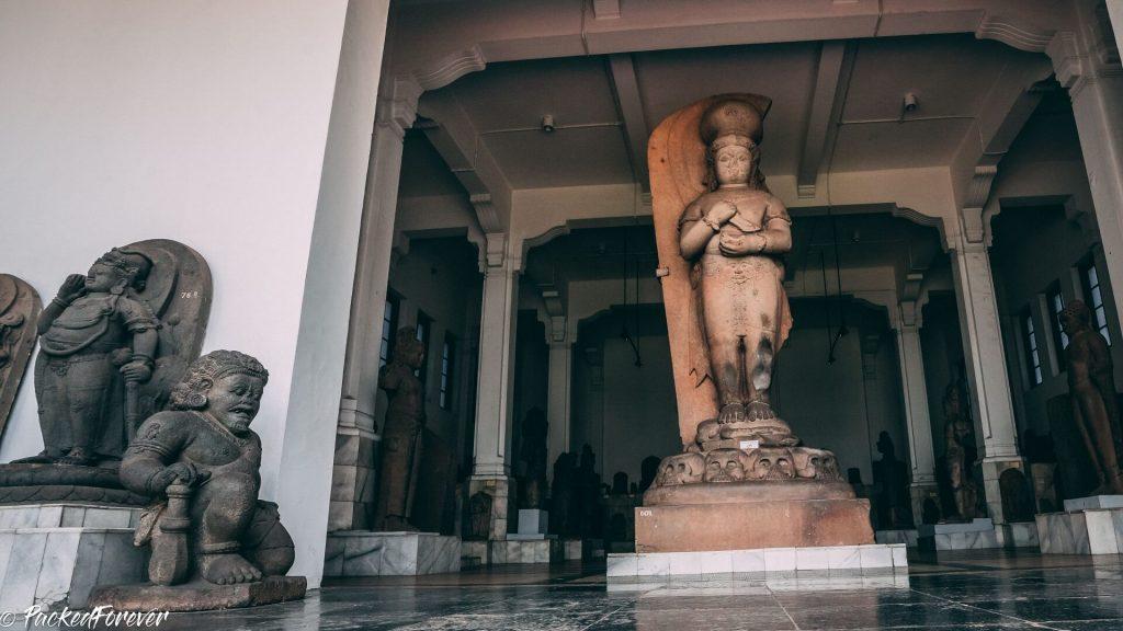 Statue in Jakarta's museum