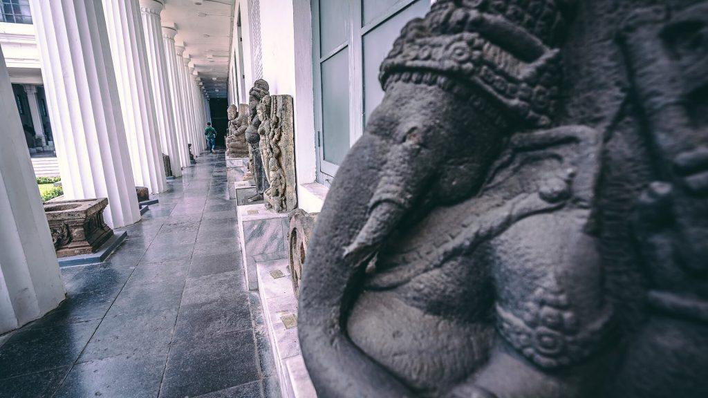 Ganesha statue in Jakarta's museum