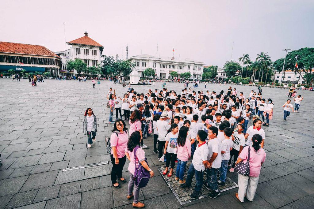 Kota Tua square, Jakarta