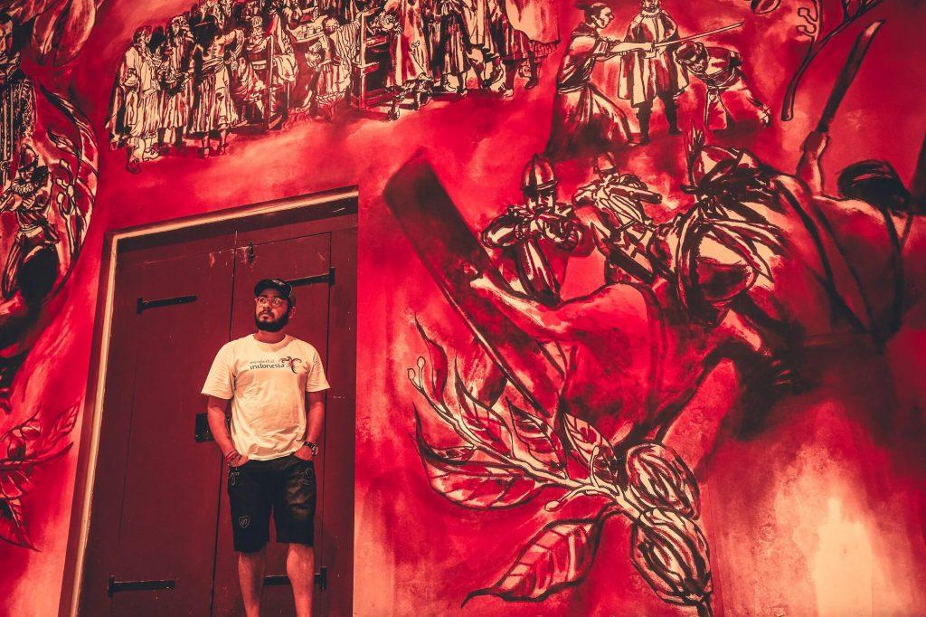 Jakarta wall art