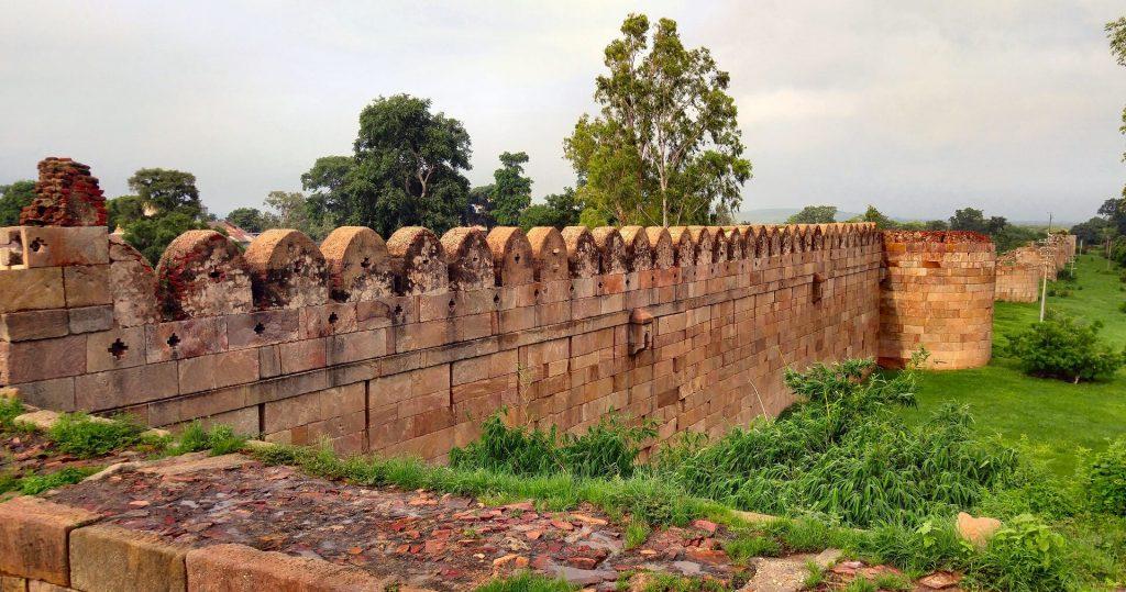 Champaner Fort Walls