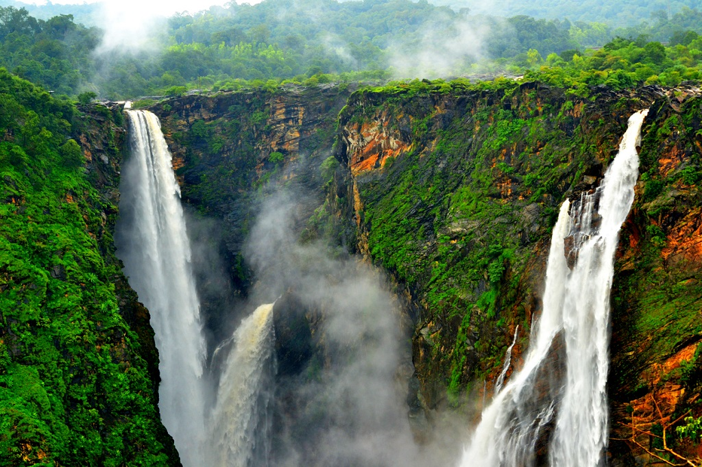 Jog Falls, visit Karnataka, India