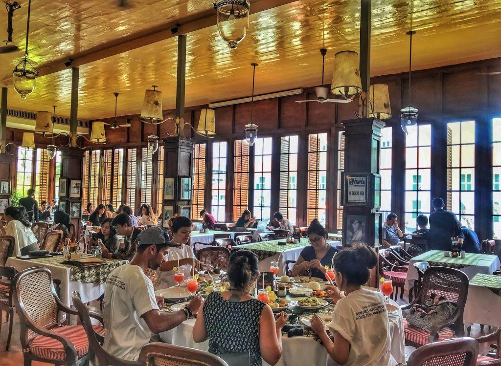 Lunch at Café Batavia, Jakarta