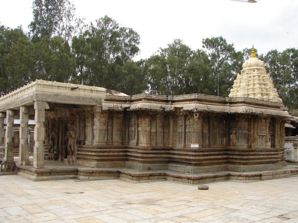 Vaidyeshvara Temple, 1000 AD at Talakad