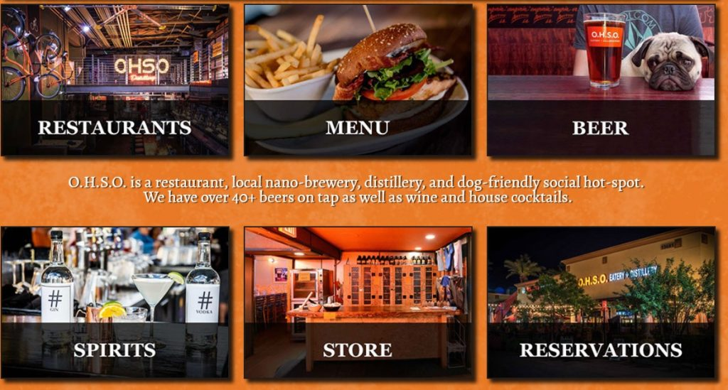 o.h.s.o. eatery and nanobrewery - pet-friendly restaurants and food places