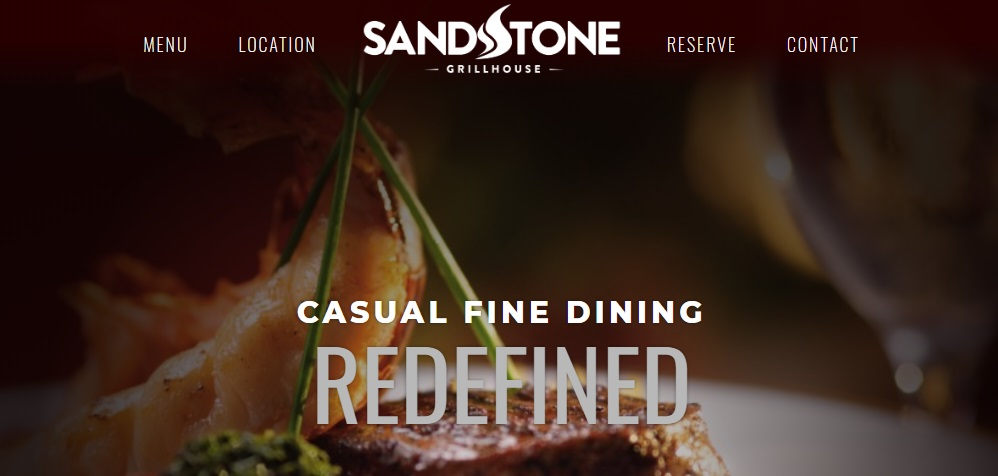 sandstone grillhouse - pet-friendly restaurants and food places