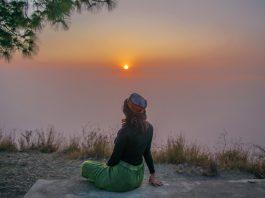 Sunset in Kasauli