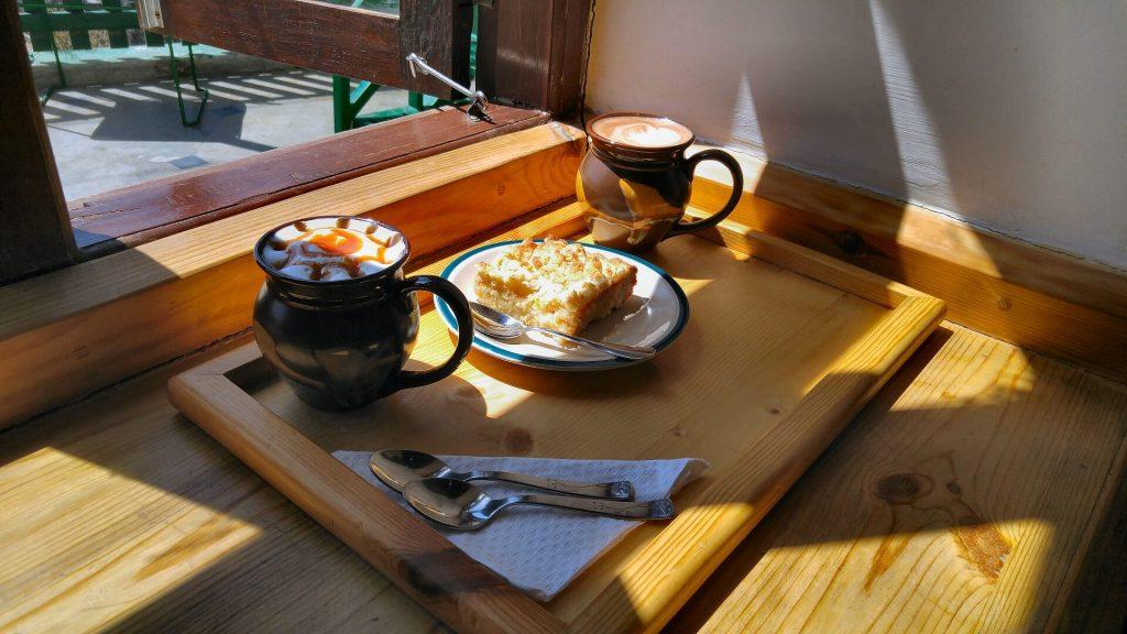 Mudcup Cafe in Landour