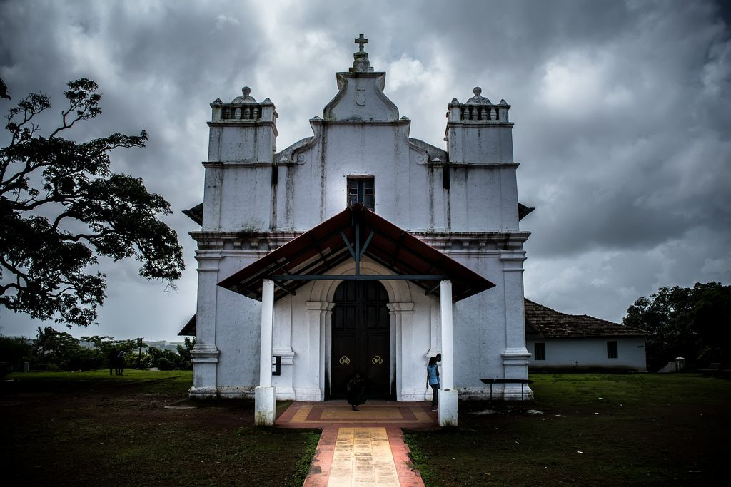 Three kings Church in Goa is said to be haunted