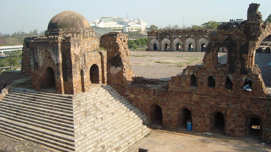 Feroz Shah fort in Delhi is said to be among the haunted places in India