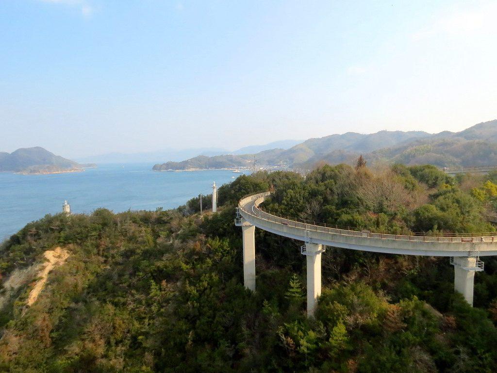 The Shimamnami Kaido cycle route