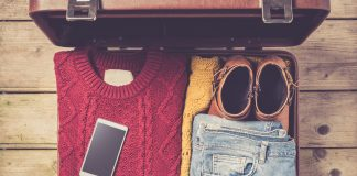 winter packing list
