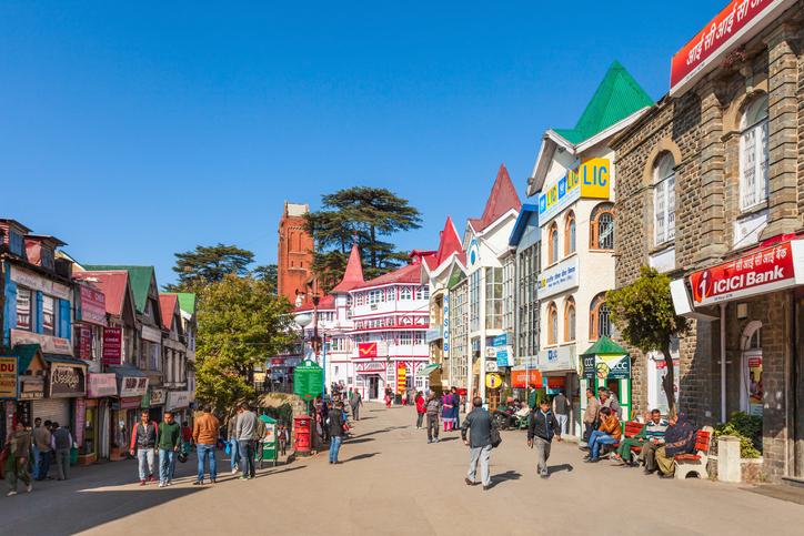 Ridge road, Shimla, places to visit in Shimla