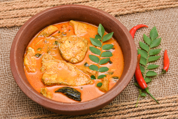 kerala cuisine fish curry