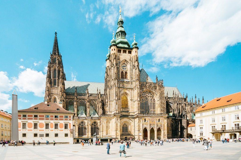 St.Vitus Cathedral in Prague castle