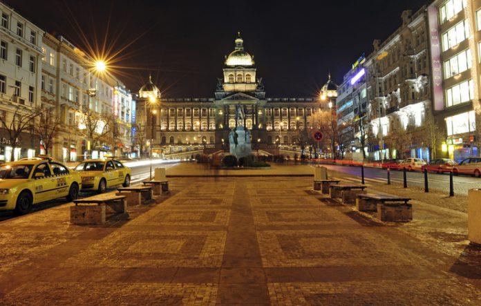 Wenceslas square things to do in Prague