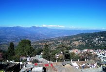 View of Ranikhet