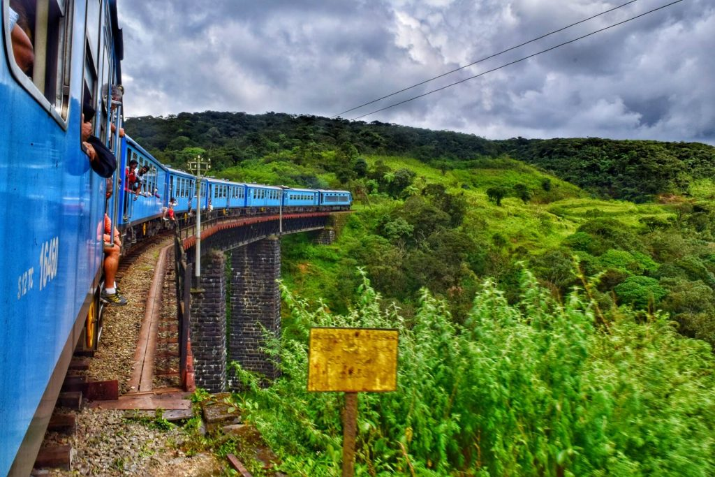 Train from Ella, Sri Lanka