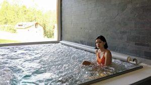 Relaxing spa in St Moritz