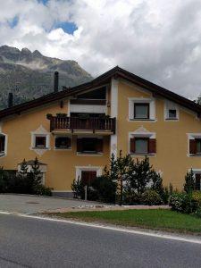 Beautiful houses in St Moritz