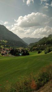 Beautiful landscape of St Moritz