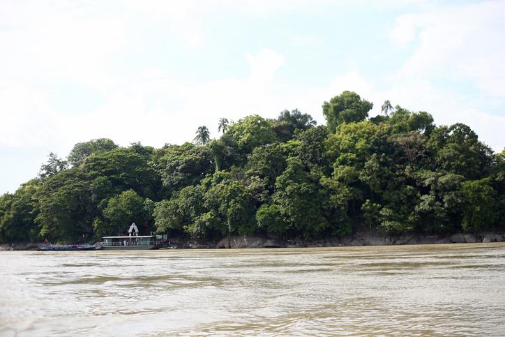 Umananda Island Temple
