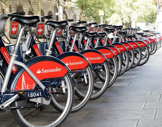 London Santander Bikes