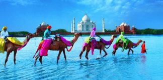 Depicting India tourism