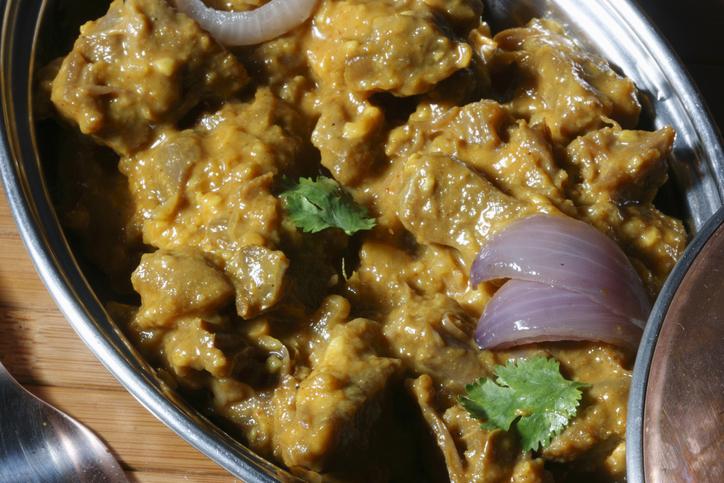 Pasinde a non veg dish from Hyderabad.