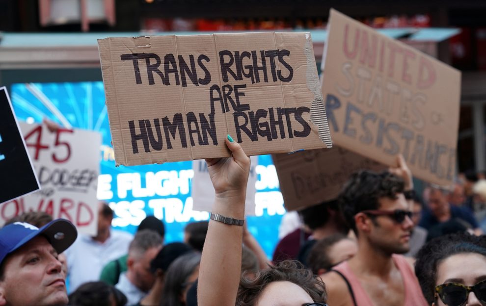 Transgenders fighting for their rights