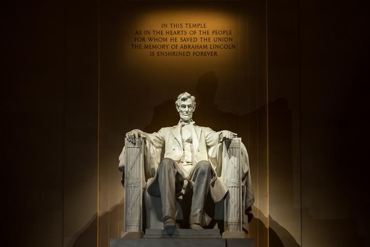 Lincoln Memorial, trip to Washington, D.C.