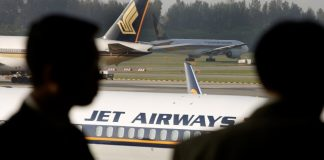 Jet Airways planning to sell its majority stake for 1 rupee. Image Source