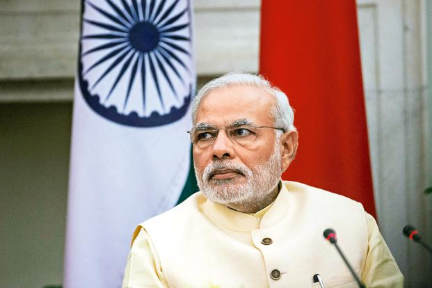 Prime Minister Of India, Narendra modi.