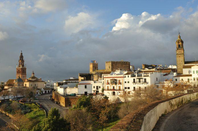 Scenic view of Carmona, Spain