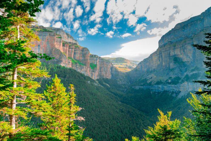 Ordesa and Monte Perdido national park.Aragon.Spain