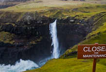 The Faroe Islands closed for maintenance.
