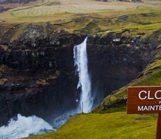 The Faroe Islands closed for maintenance.